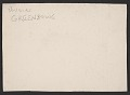 View F. Douglas Greenbowe Christmas card to unidentified recipient digital asset: verso