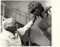 View Carl Milles with sculpture digital asset number 0
