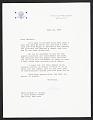 View Nelson A. Rockefeller letter to Dorothy Miller digital asset number 0