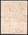 View Robert Mills family letters, 1813-1847 digital asset number 0