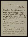 View Francis Davis Millet letter to Charles Francis Adams, Jr. digital asset number 0