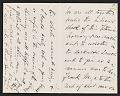 View Henry James letter to Antonio de Navarro digital asset: page 1