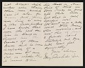 View Mary Cadwalader Jones letter to Lily Millet digital asset: page 1