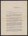 View Algernon S. Frissell letter to Lily Millet digital asset number 0