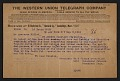 View American Academy and Institute of Arts and Letters telegram to Laurence Millet digital asset number 0