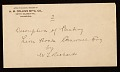 View George Whitney, Philadelphia, Pa. letter to Henry Hill Collins digital asset: envelope