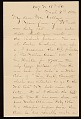 View George Whitney, Philadelphia, Pa. letter to Henry Hill Collins digital asset number 0