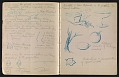 View An unidentified design student's notebook digital asset: pages 7