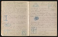 View An unidentified design student's notebook digital asset: pages 13
