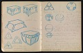 View An unidentified design student's notebook digital asset: pages 16