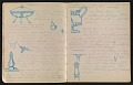 View An unidentified design student's notebook digital asset: pages 17