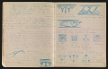 View An unidentified design student's notebook digital asset: pages 18