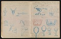 View An unidentified design student's notebook digital asset: pages 21