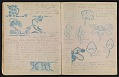 View An unidentified design student's notebook digital asset: pages 25
