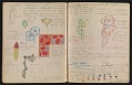 View An unidentified design student's notebook digital asset: pages 37