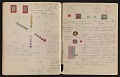 View An unidentified design student's notebook digital asset: pages 40