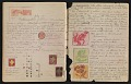 View An unidentified design student's notebook digital asset: pages 41