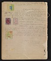 View An unidentified design student's notebook digital asset: pages 42