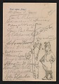 View Lotos Club menu for a dinner in honor of William T. Evans digital asset: verso