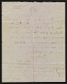 View Francis Seymour Haden letter to Frederick Keppel digital asset: verso