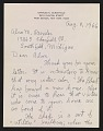 View Charles Burchfield letter to Alan M. Pensler digital asset: page 2