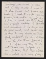 View Charles Burchfield letter to Alan M. Pensler digital asset: page 3