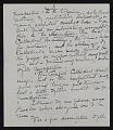 View Elizabeth Robins Pennell, New York, N.Y. letter to G. William Patten, Dorchester, Mass. digital asset: page 4