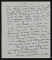 View Elizabeth Robins Pennell, New York, N.Y. letter to G. William Patten, Dorchester, Mass. digital asset: page 5