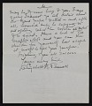 View Elizabeth Robins Pennell, New York, N.Y. letter to G. William Patten, Dorchester, Mass. digital asset: page 6