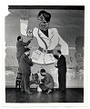 View Faculty of the Art Students League working on a mural of Hitler digital asset number 0