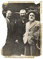 View Photograph of Max Weber, Aristide Maillol, and an unidentified man digital asset number 0