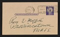 View Edwin Walter Dickinson postcard to Ross E. Moffett digital asset number 0