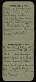 View F. Luis Mora pocket diary digital asset: page 4