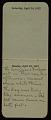 View F. Luis Mora pocket diary digital asset: page 13