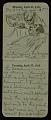 View F. Luis Mora pocket diary digital asset: page 14