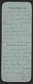 View F. Luis Mora pocket diary digital asset number 15