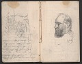 View Notebook of sketches and writings digital asset: pages 5