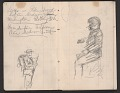 View Notebook of sketches and writings digital asset: pages 7