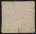 View Henry Mosler Civil War diary digital asset: pages 22