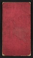 View Henry Mosler Civil War diary digital asset: cover back