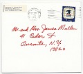 View George Zoretich Christmas card to James Mullen digital asset: cover