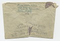 View Frida Kahlo, Paris, France letter to Nickolas Muray, New York, N.Y. digital asset: envelope verso