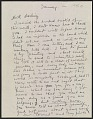 View Frida Kahlo, Coyoacan, Mexico letter to Nickolas Muray, New York, N.Y. digital asset: front