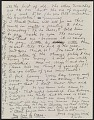 View Frida Kahlo, Coyoacan, Mexico letter to Nickolas Muray, New York, N.Y. digital asset: verso