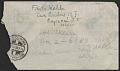 View Frida Kahlo, Coyoacan, Mexico letter to Nickolas Muray, New York, N.Y. digital asset: envelope verso
