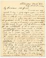 View William Daniel Murphy letter to Harriet Anderson Stubbs Murphy digital asset: page 1