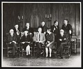 View Photograph of Isabel Bishop, Raphael Soyer, and others at 142nd Annual Exhibition of National Academy of Design digital asset number 0