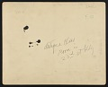 View Photograph of antique class at National Academy of Design 23rd street location digital asset: verso