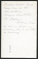 View A portable electric lamp by C. H. Barr digital asset: verso