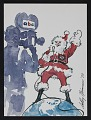 View Christmas card with illustration by LeRoy Neiman digital asset: front